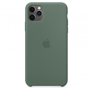 Чехол Apple Silicone Case Pine Green (1:1) для iPhone 11 Pro