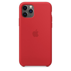 Чехол Apple Silicone Case Red (1:1) для iPhone 11 Pro