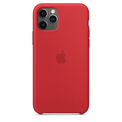 Чехол Apple Silicone Case Red (1:1) для iPhone 11 Pro