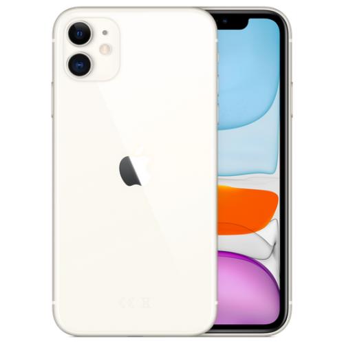 Apple iPhone 11 Dual SIM 128GB White. Купить Apple iPhone 11 Dual SIM 128GB White по низкой цене в Киеве, Харькове, Днепре, Одессе, Львове, Запорожье, Виннице, Николаеве, Полтаве, Украине   Cactus