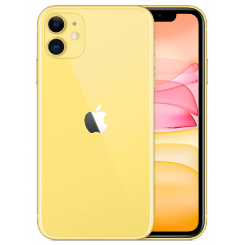 Apple iPhone 11 Dual SIM 128GB Yellow. Купить Apple iPhone 11 Dual SIM 128GB Yellow по низкой цене в Киеве, Харькове, Днепре, Одессе, Львове, Запорожье, Виннице, Николаеве, Полтаве, Украине   Cactus