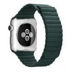 Ремешок Apple Watch 38/40mm Leather Loop (Forest Green)