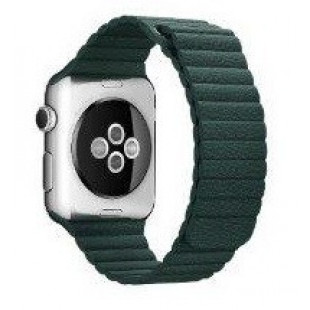 Ремешок Apple Watch 38/40mm Leather Loop (Forest Green)
