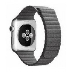 Ремешок Apple Watch 38/40mm Leather Loop (Gray)