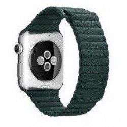 Ремешок Apple Watch 42/44mm Leather Loop (Forest Green)