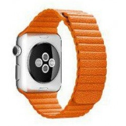 Ремешок Apple Watch 42/44mm Leather Loop (Sunset Yellow)