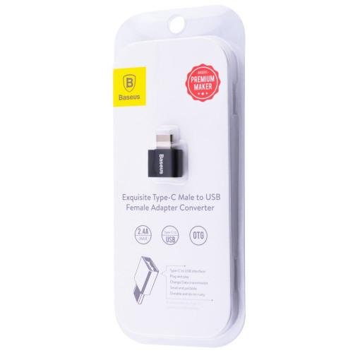 OTG Baseus Type-C to USB Black (CATOTG-01)
