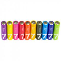 Батарейки Xiaomi ZMi Rainbow AAA 10 шт (NQD4001RT)