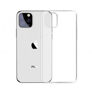 Силиконовый чехол WS Apple IPhone 11 Pro Max (прозрачный)