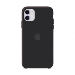 Чехол Apple Silicone Case Black (1:1) для iPhone 11