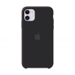 Чехол Apple Silicone Case Black (1:1) для iPhone 11