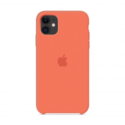 Чехол Apple Silicone Case Clementine (Orange) (1:1) для iPhone 11