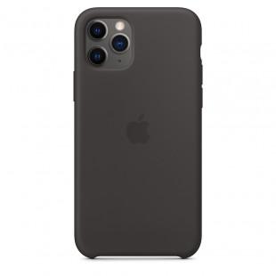 Чехол Apple Silicone Case Black (1:1) для iPhone 11 Pro