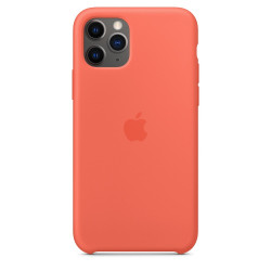 Чехол Apple Silicone Case Clementine (Orange) (1:1) для iPhone 11 Pro