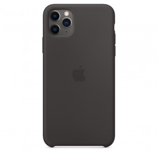 Чехол Apple Silicone Case Black (1:1) для iPhone 11 Pro Max