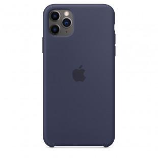 Чехол Apple Silicone Case Midnight Blue (1:1) для iPhone 11 Pro Max