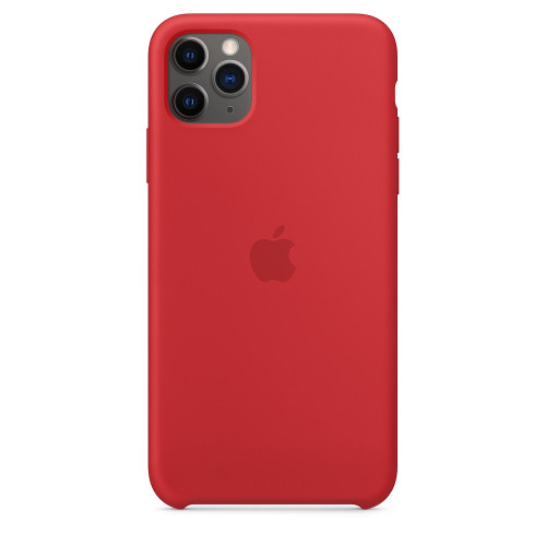 Чехол Apple Silicone Case (Product) Red (1:1) для iPhone 11 Pro Max