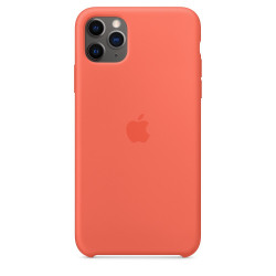 Чехол Apple Silicone Case Clementine (Orange) (1:1) для iPhone 11 Pro Max