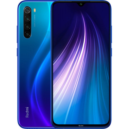 Xiaomi Redmi Note 8 4/128Gb Neptune Blue EU