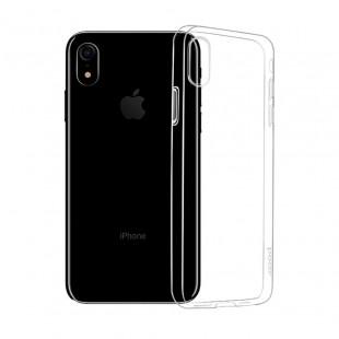 Силиконовый чехол iPhone XR (прозрачный) Hoco Crystal Сlear