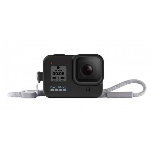 Чехол GoPro HERO8 Sleeve&Lanyard Black (AJSST-001)
