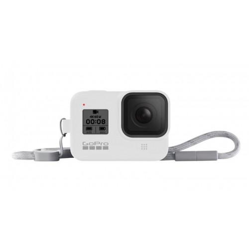 Чехол GoPro HERO8 Sleeve&Lanyard White (AJSST-002)