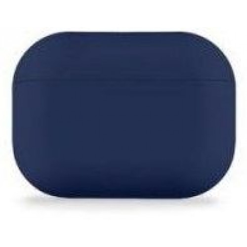 Чехол Silicone case Ultra Thin AirPods Pro Midnight Blue