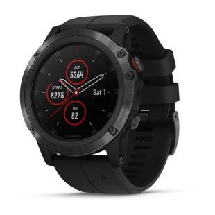 Спортивные часы Garmin Fenix 5x Plus Sapphire Black with Black Band (010-01989-01)