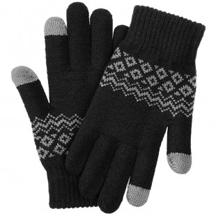Перчатки FO touch screen warm velvet gloves Black (ST20190601)