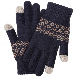 Перчатки FO touch screen warm velvet gloves Blue (ST20190601)