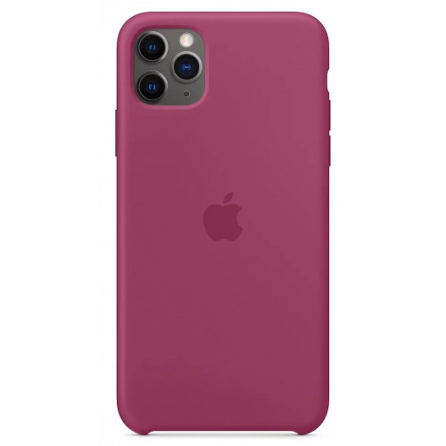 Чехол Apple Silicone Case Pomegranate (1:1) для iPhone 11 Pro