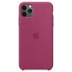Чехол Apple Silicone Case Pomegranate (1:1) для iPhone 11 Pro Max