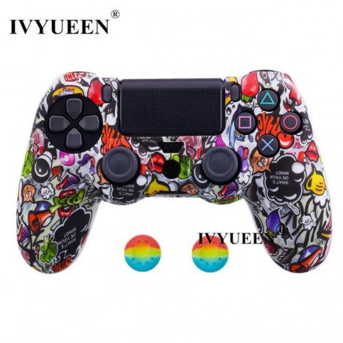 Чехол для Sony PS4 Dualshock 4 (Graffiti F)