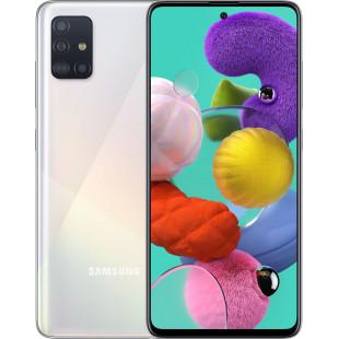 Samsung Galaxy A51 6/128Gb 2020 White (SM-A515FZWWSEK) UA