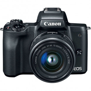 Canon EOS M50 kit (15-45mm) IS STM Black EU