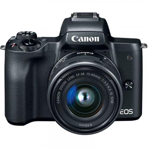 Canon EOS M50 kit (15-45mm) IS STM Black EU