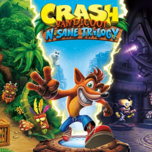 Диск PS4 Crash Bandicoot N sane Trilogy