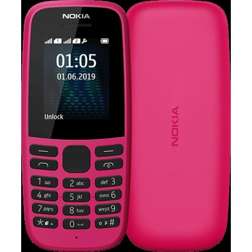 Nokia 105 2019 Dual Sim Pink