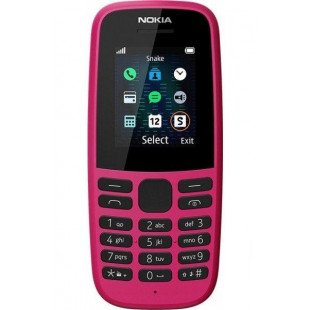 Nokia 105 2019 Single Sim Pink