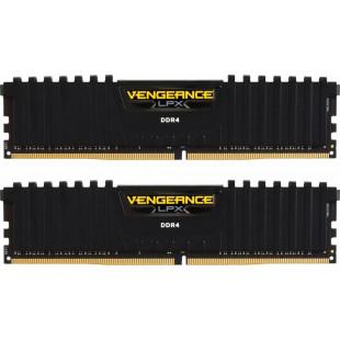 Оперативная память DDR4 16GB (2x8GB) 3200 Corsair Vengeance LPX C16-18-18-36 (CMK16GX4M2B3200C16)