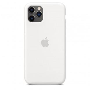 Чехол Apple Silicone Case White (1:1) для iPhone 11 Pro