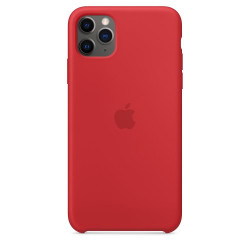 Чехол Apple Silicone Case Red (1:1) для iPhone 11 Pro Max