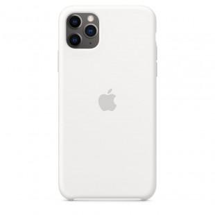Чехол Apple Silicone Case White (1:1) для iPhone 11 Pro Max