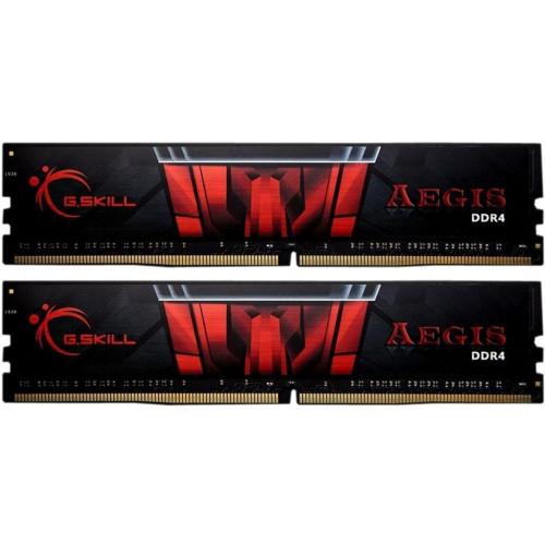 Оперативная память DDR4 16GB KIT(2x8G) 3200MHz G.SKILL AEGIS 1.35V CL16 (F4-3200C16D-16GIS). Купить Оперативная память DDR4 16GB KIT(2x8G) 3200MHz G.SKILL AEGIS 1.35V CL16 (F4-3200C16D-16GIS) по низкой цене в Киеве, Харькове, Днепре, Одессе, Львове, Запор