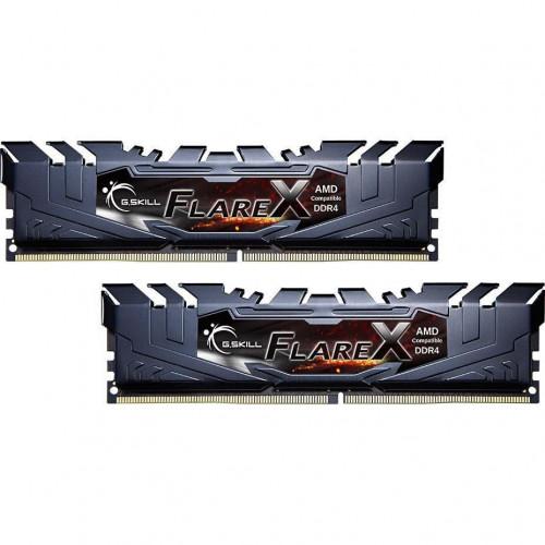 Оперативная память DDR4 16G KIT(2x8G) 3200MHz G.SKILL FlareX Black 1.35V CL16 (F4-3200C16D-16GFX)