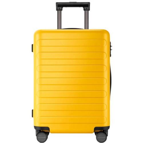 Чемодан RunMi 90 Seven-bar luggage Yellow 28″ 105103