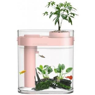 Аквариум Xiaomi HFJH Amphibian ECO-Aquarium Humidifier Youth Edition Pink (HF-JHYGZH002)