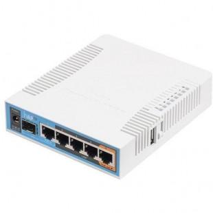Беспроводной маршрутизатор Mikrotik hAP AC RB962UiGS-5HacT2Hn