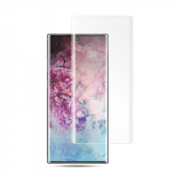 Защитное стекло 5D Samsung Galaxy Note 10 + N975 (Clear) (Ultra Violet Glue)