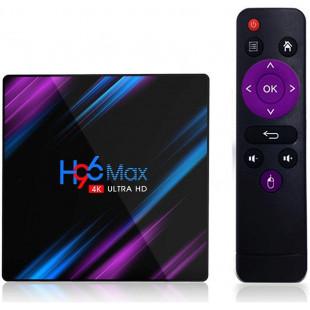 ТВ приставка Vontar H96 MAX RK3318 Android 9, 4K (4/64Gb)